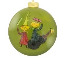 Årets julkula från UNICEF med motiv av Stig Lindberg