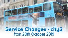 Service Changes - city2