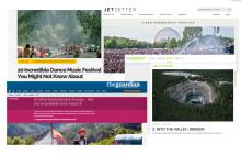 Into The Valley listas i The Guardian och flera andra välkända internationella medier