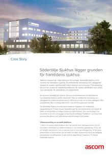 Case story - Södertälje Sjukhus lägger grunden för framtidens sjukhus