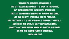 C har fått sin revansch - sprider positivt budskap till turister