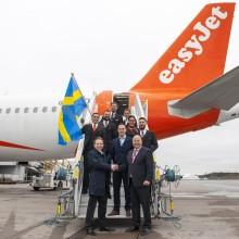 easyJet inaugurates two new routes at Stockholm Arlanda