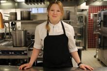 Johanna i Stockholm Culinary team är Stadshuskällarens nya konditor
