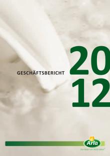 Arla Foods Geschäftsbericht 2012