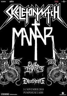Oplev Skeletonwitch & Mantar  i Pumpehuset 14. november