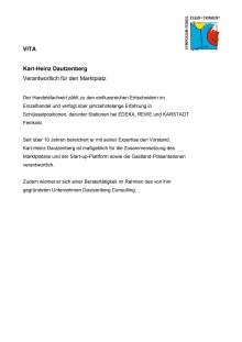 Vita Karl-Heinz Dautzenberg