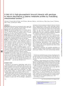 Armah et al 2013 - A diet rich in high-glucoraphanin broccoli..