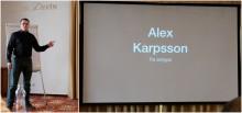 Alex Karpsson debuterar på Foo Café: så säkerställer du hög effektivitet i agila projekt