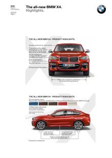 BMW X4 - highlights