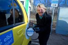 Hamilton (M)/Ankersjö (C): Första snabbladdningsstationen för elbilar äntligen på plats