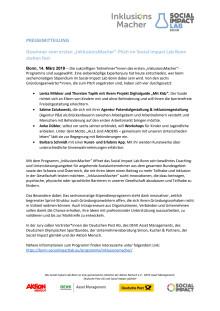 """Gewinner vom ersten """"InklusionsMacher""""-Pitch im Social Impact Lab Bonn stehen fest"""