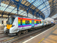 """Trainbow"" departs for Brighton & Hove Pride"
