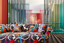 New Josef Frank interpretations offered by international textile talents