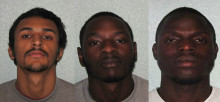 Three gang members convicted of human trafficking offences