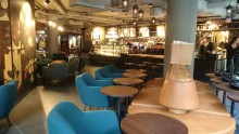 Ny Starbucks i MOOD-gallerian i Stockholm