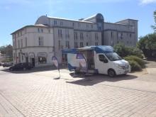 Beratungsmobil der Unabhängigen Patientenberatung kommt am 26. Juni nach Wismar.
