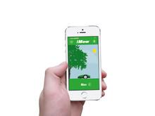 Ta ett snack med din robotgräsklippare