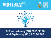 ErP Verordnung (EU) 2015/1188 und Ergänzung (EU) 2016/2282