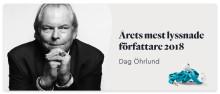 Årets mest lyssnade författare 2018 - Dag Öhrlund