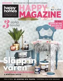 Vårens bästa inredningstips hittar du i Happy Magazine