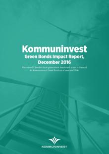 Kommuninvest Green Bonds Impact Report, dec 2017