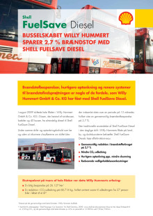 FuelSave Diesel case: Willy Hummert