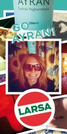 Go Ayran på facebook!