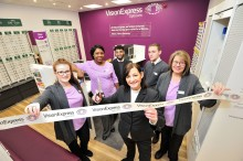 Vision Express officially opens its new optical store at Tesco in Quedgeley