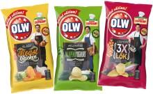 Tre kändiskockar lagar OLW-chips