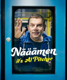 """Al Pitcher ger fyra föreställningar i Skåne under hösten 2015 med """"Nääämen it's Al Pitcher"""""""