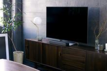 Sony esittelee olohuoneeseen tyylikkäästi istuvan kompaktin Soundbarin