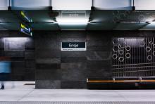 Det er behov for vedlikehold av Ensjø T-banestasjon