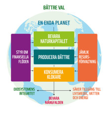 Ett bättre kött för en bättre värld  - tänk om,  Håkan Wirtén och WWF!