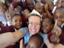 Högskolestudenter från Skövde på givande utbyte i Tanzania