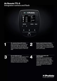 A Sony e a Profoto anunciam a sua Parceria e o primeiro produto interoperável para fotógrafos avançados