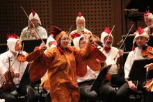 Gävle Symfoniorkester och Pettson & Findus spelar sex föreställningar för lågstadieelever