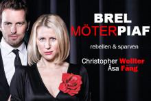 Hyllad Brel och Piaf till Nöjesteatern! Onsdagen den 14 mars