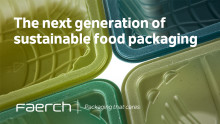 Faerch Launches New Packaging Solution Made from 100% Recycled Content
