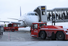 Noe nedgang ved Oslo Lufthavn