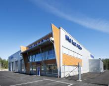 Dag för första spadtaget för Wist Last & Buss nya anläggning i Gällivare.