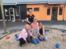 Välbesökt invigning på förskolan Hovslagaren