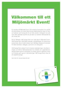 Nolia Trädgård är för första gången ett miljömärkt event