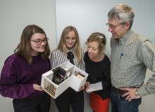 Samarbete med Polhemskolan ger LKF nya infallsvinklar