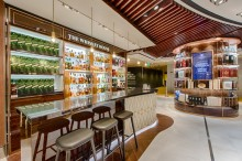 DFS Group brings the art of Wines and Spirits to life with its latest duplex at Singapore Changi Airport's Terminal 2