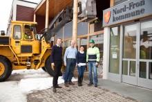 Nord-Fron kommune viser vei med energitiltak som bedrer miljøet  - og kommuneøkonomien