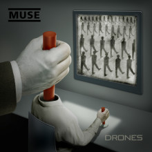 "MUSE RETURN WITH NEW ALBUM ""DRONES"", RELEASED JUNE 10, 2015."