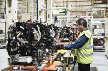 Halverad energiförbrukning vid tillverkning av Fords nya dieselmotor