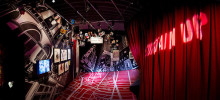 Printad vinylmatta till Oliver Awards i London
