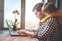 Internet til hjemmet og udstyr til hjemmearbejdspladsen slår rekord