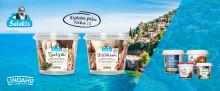 Lindahls medelhavsinspirerade mejeriprodukter – nu under samlingsnamnet Salakis